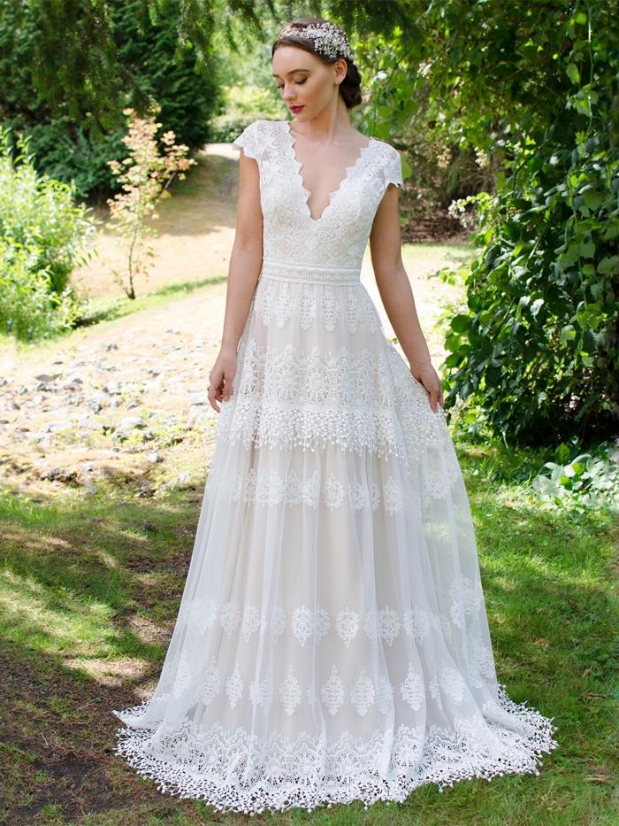 Ungewöhnlich Indian Weißen Brautkleider Galerie - Brautkleider Ideen ...