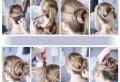 Viele Ideen und Anleitungen für Frisur: Messy Dutt