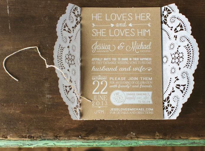 1001 Ideen Wie Sie Hochzeitseinladungen Selber Basteln