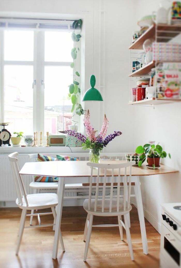 kleines esszimmer einrichten, deko und möbel für küche oder esszimmer ideen