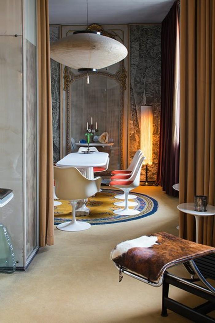 Schon Moderne Esszimmer Selber Einrichten Und Dekorieren, Eine Mischung Von  Stilen Und Ideen, Faszinierende Lampe