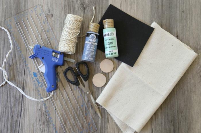 wie kleine Geschenktüten selber nähen, nützliche Sachen zum Nähen und Dekorieren