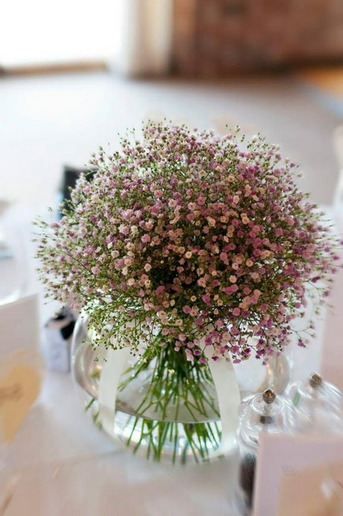 einfache tischdekoration selber machen, lavendel in einem glas stellen und das ganze haus verschönern und aromatisieren