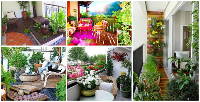 balkon deko ideen, die blumen sind perfekte deko für außenbereich, welche wählen sie