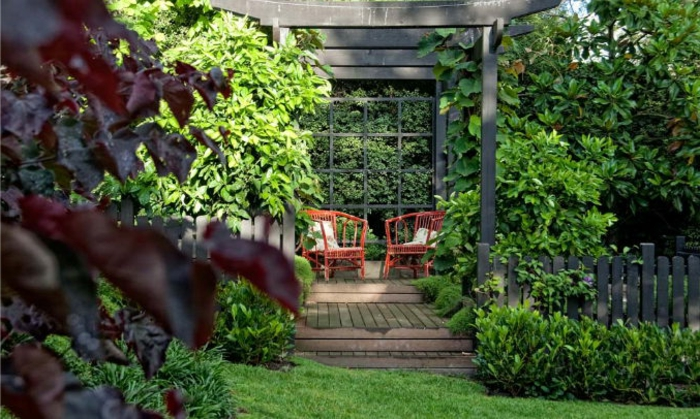 1001 ideen f r landschaftsgarten zum inspirieren und. Black Bedroom Furniture Sets. Home Design Ideas