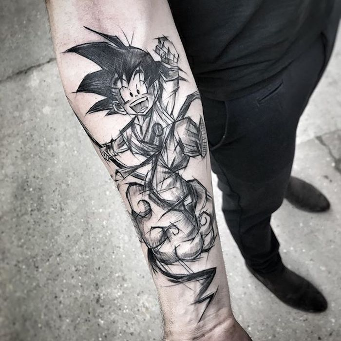 Tattoo am Unterarm, viele coole Ideen für Männer Tattoos, Arm Tattoos