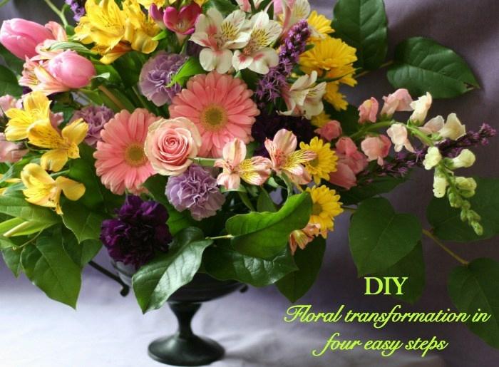 schöne tischdeko, diy dekoration für tische, schöne pastellfarbene blumen