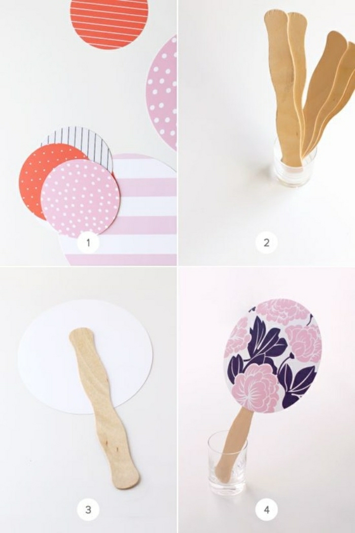 Enjoy the summer with our simple craft ideas and instructions for children and adults