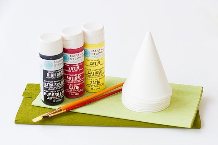 Party Hüte selber machen, leichte und lustige DIY Idee zum Nachmachen, Bastelideen mit Papier