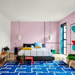 Altrosa Wandfarbe - eine frische Schattierung für jedes Zimmer