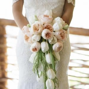 Brautstrauß Wasserfall - über 50 schöne Beispiele und Inspirationen