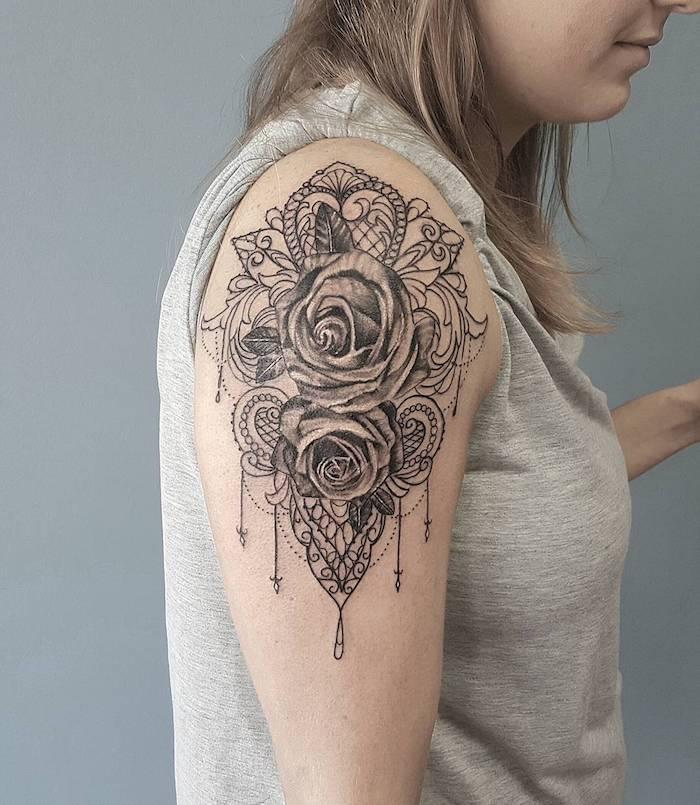 Tattoos für frauen oberarm