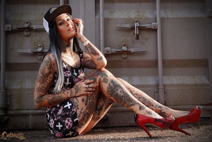 Tattoos women - here you will find the most beautiful motifs!