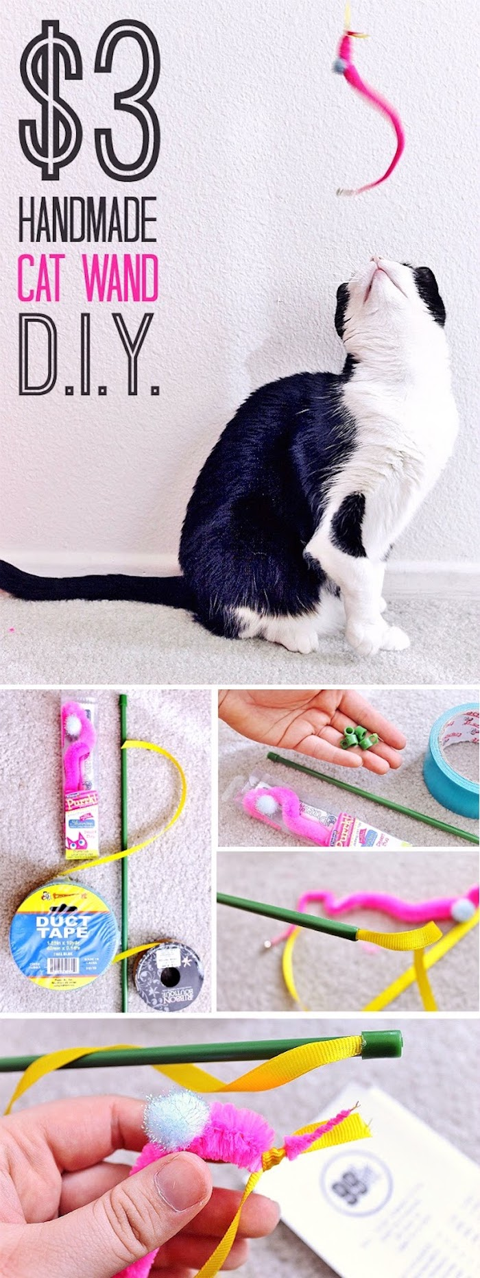 ▷ 8 + Ideen in inspirierenden Bildern für Katzenspielzeug ...