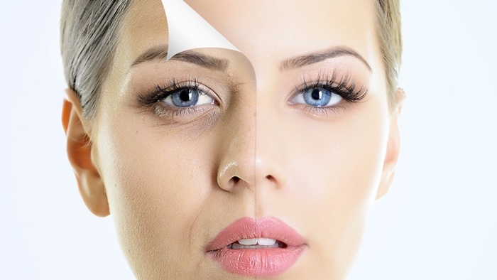 Mit Sonnenschutz den Alterungsprozess verlangsamen - ein Mittel gegen Falten