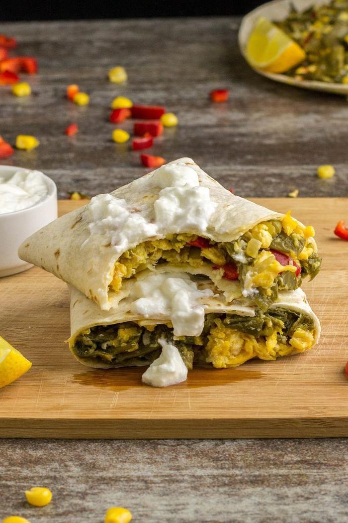 vorspeisen vegetarisch, eine idee mit teigwaren in form von kleinen taschen voll von gemüse