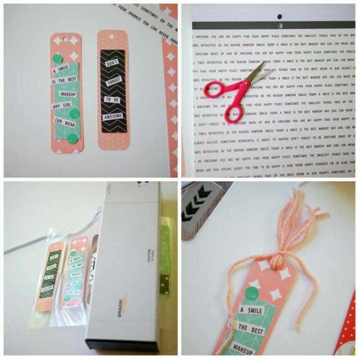 wie Sie eine ausgezeichnete DIY Lesezeichen in einige Schritte selber zusammenstellen