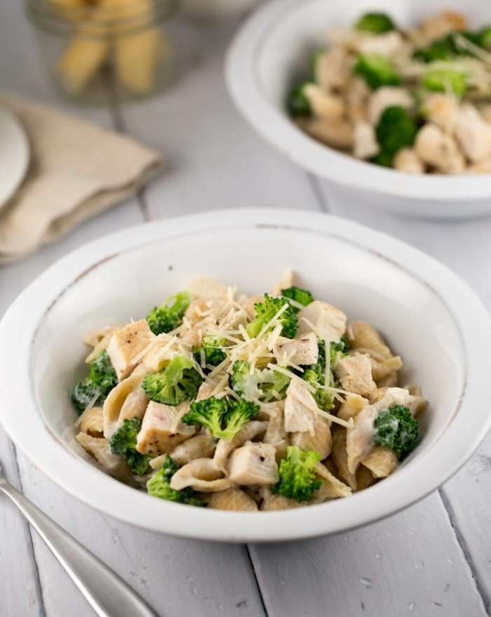 gesunde ernährung selber zubereiten und genießen, hähnchen mit brokkoli und parmesan