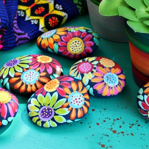 Steine bemalen - kreative Ideen für Groß und Klein