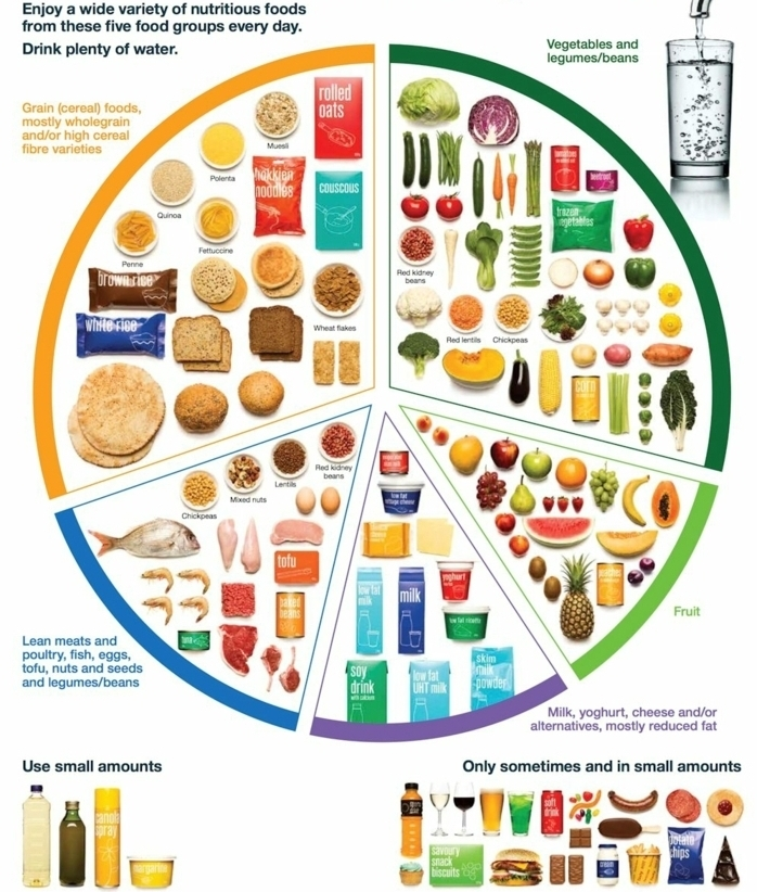 ausgewogene ernährung, plan zur verteilung der nahrstoffe, kohlenhydrate, eiweiß, fett, vitamine, viel wasser trinken