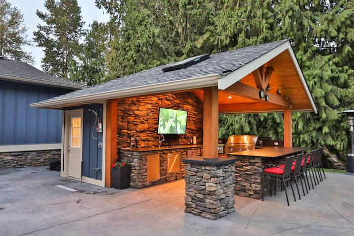 Outdoor Küche Holz Selber Bauen : ▷ 1001 ideen und bilder zum thema außenküche selber bauen