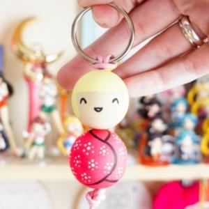 10 Anleitungen in Bildern, wie Sie Schlüsselanhänger selber machen