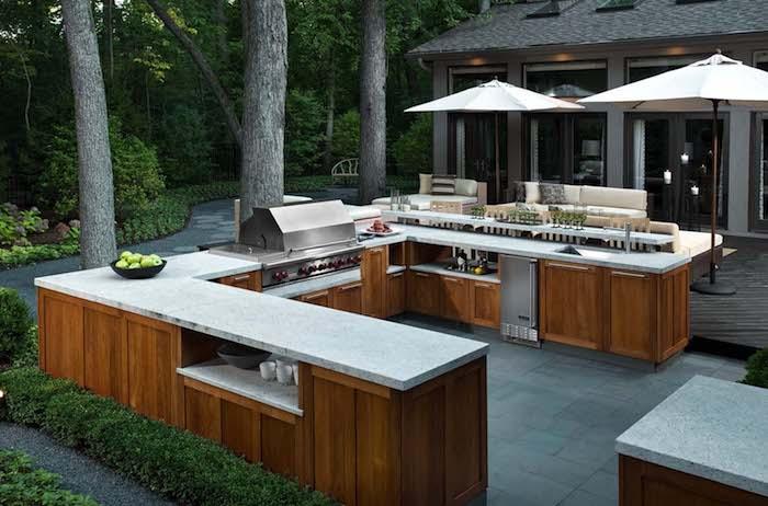 Außenküche Mit Backofen : Außenküche selber bauen gute ideen und wichtige tipps
