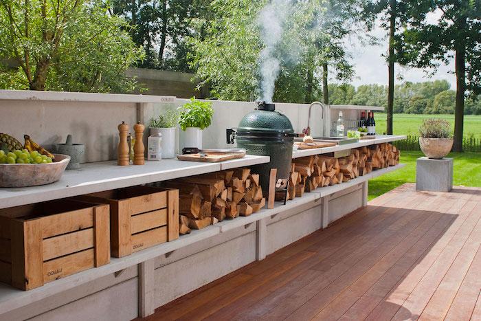 Außenküche Selber Bauen Jobs : ▷ 1001 ideen und bilder zum thema außenküche selber bauen