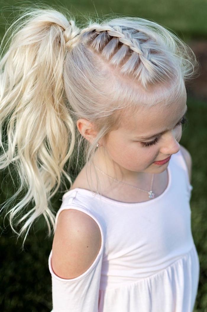1001 + schöne Frisuren für Mädchen zum Nachstylen