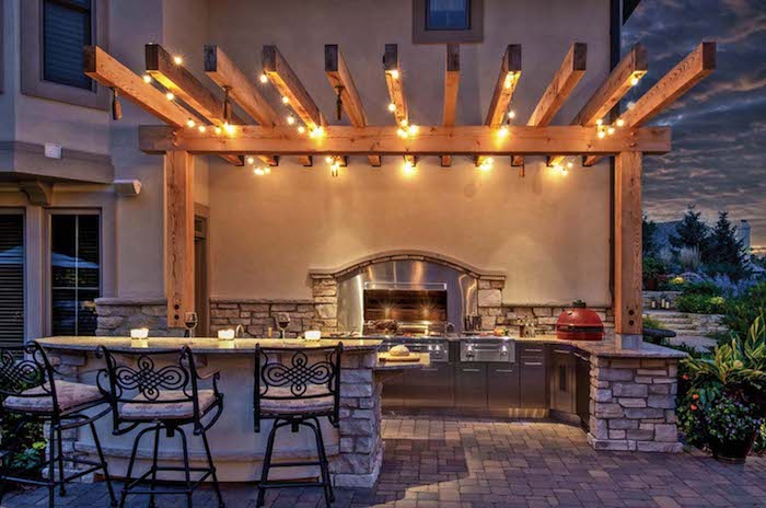 Dach Für Außenküche : ▷ ideen und bilder zum thema außenküche selber bauen