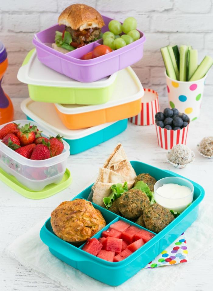 ausgewogene ernährung plan, das essen vorkochen, in box lagern, mitnehmen und überall genießen, vitamine und gesunde kalorien