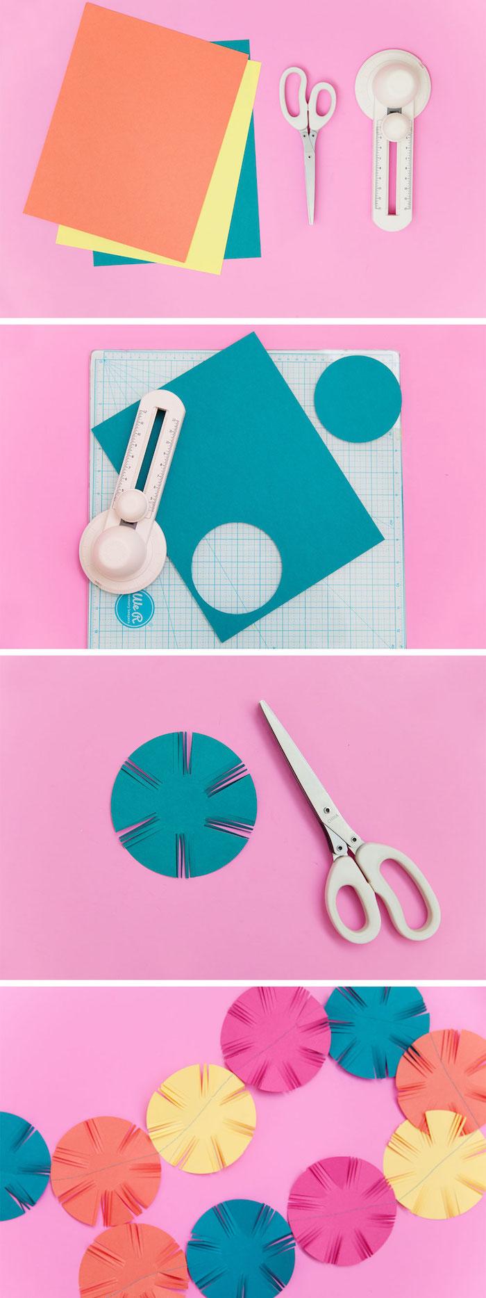 kreative gestalten die schönsten ideen zum selbermachen, basteln mit papier, girlande