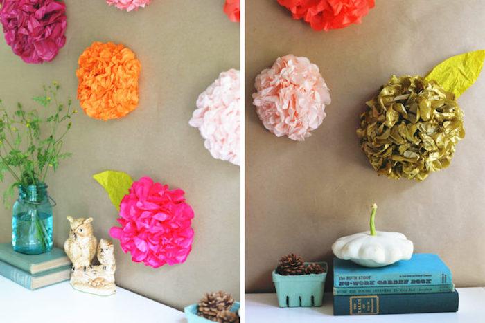 kreatives gestalten die schönsten ideen zum selbermachen, basteln mit papier, blumen
