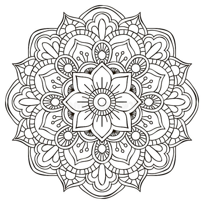 1001 Coole Mandalas Zum Ausdrucken Und Ausmalen