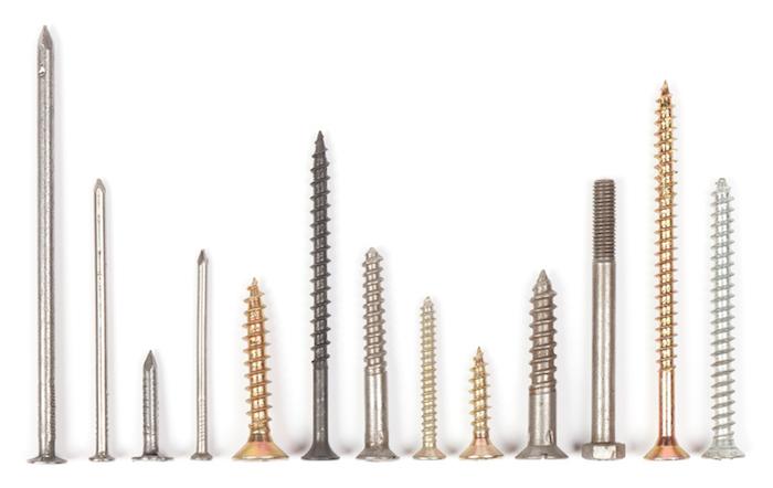 Die richtige Schraube für jeden Zweck, unterschiedliche Größe, Zugfestigkeit und Beständigkeit bei Temperaturschwankungen
