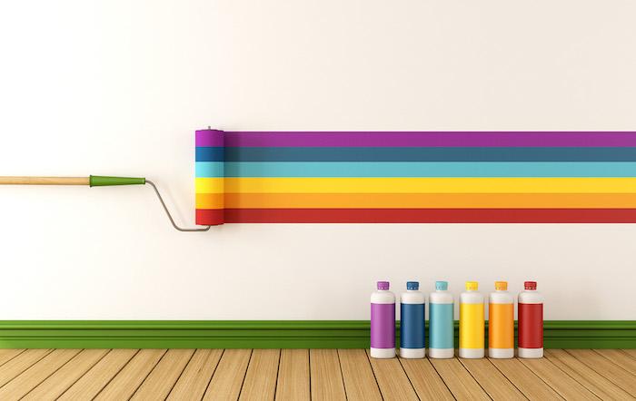 1001 + Ideen Und Bilder Zum Thema Wand Streichen Ideen