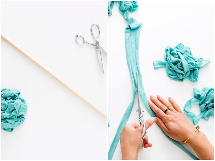 1001 ideen wie sie eine kreative deko selber machen - Wanddeko streifen ...