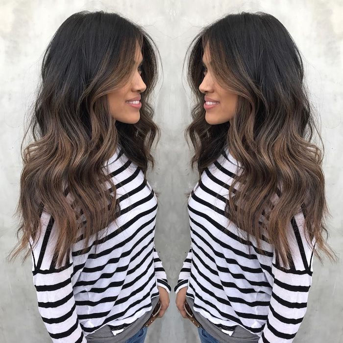 Ombre Brown - the trendy hair dyeing technique