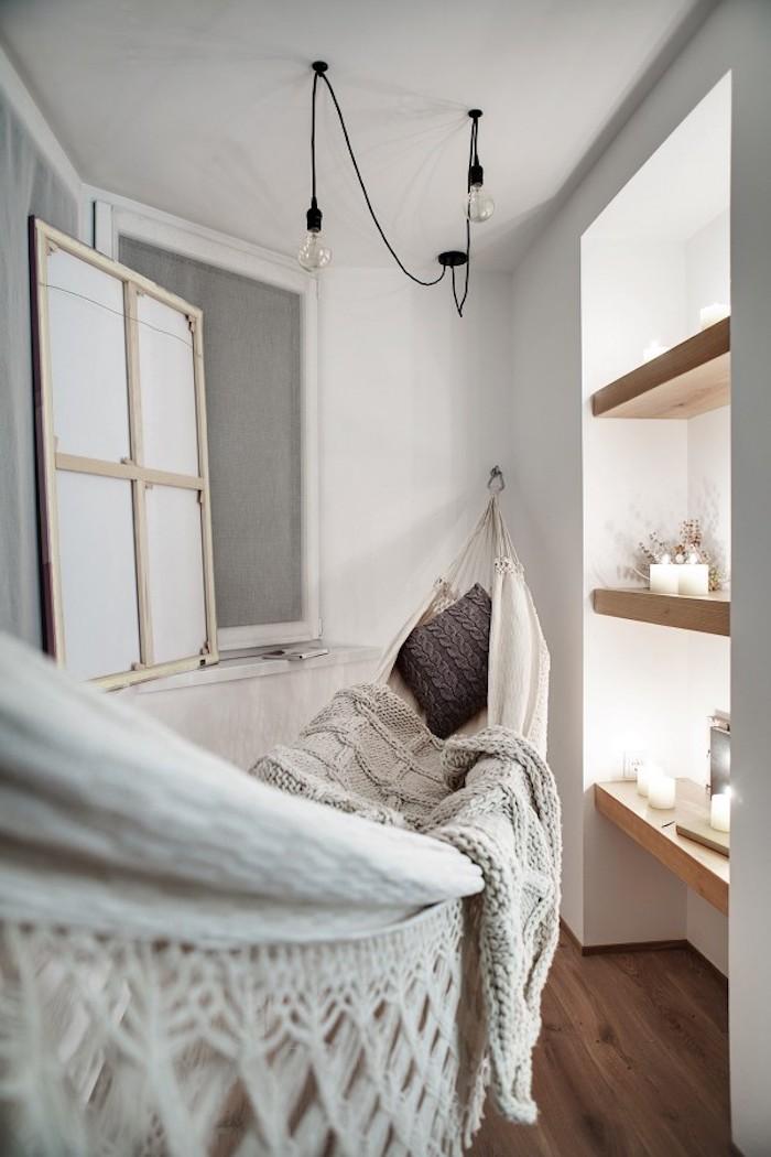 hammock zu hause, modernes wohnen und alle seine luxusideen, luxuröse gemütlichkeit