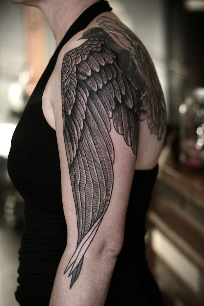 Schulter frau schöne tattoos Tattoo Schlüsselbein