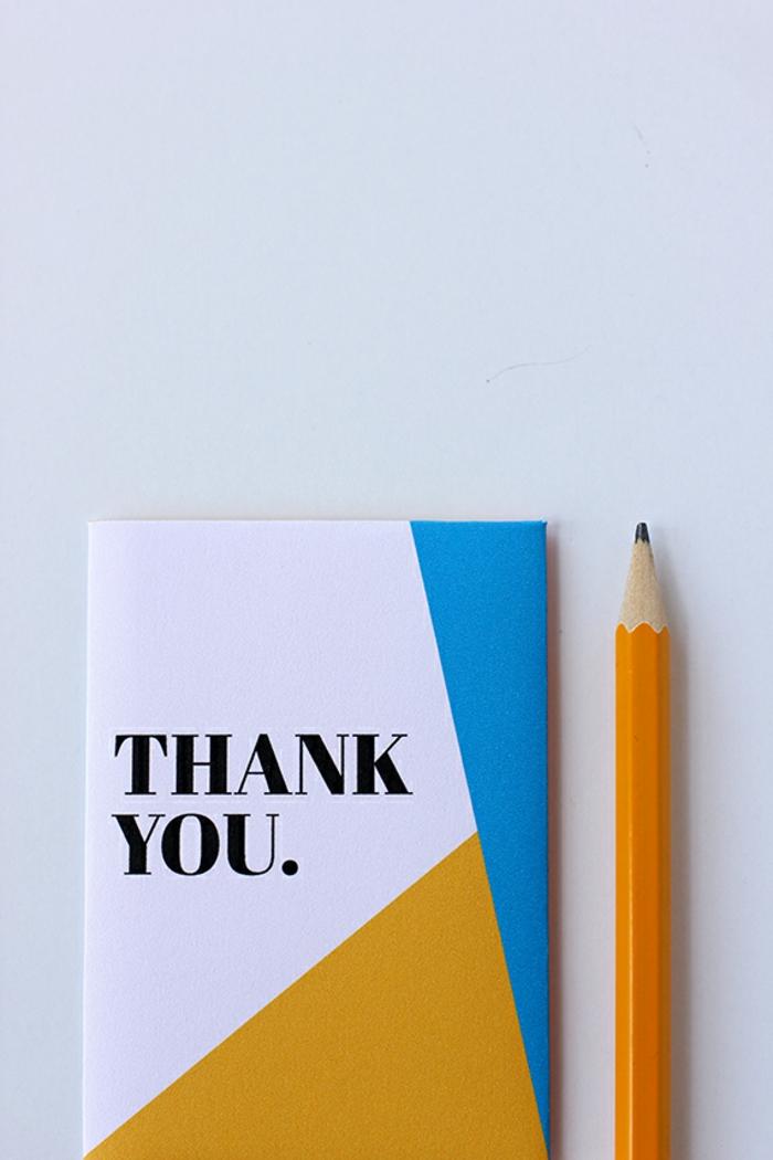 sagen Sie Danke zu Ihren Lehrer mit verpackten Gutschein, Gutschein verpacken mit den Worten Danke