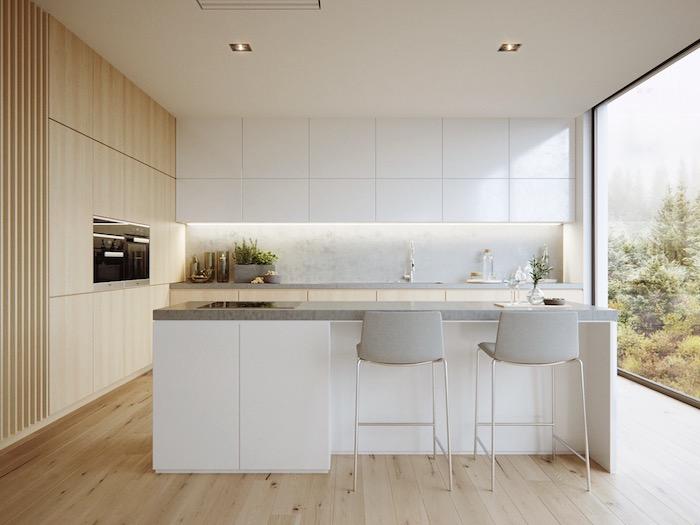 kleine zimmerrenovierung kuche kucheninsel idee kleine, ▷ 1001 + ideen für kleine küchen zum inspirieren, Innenarchitektur