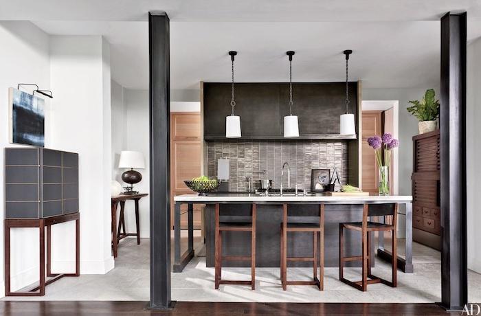 Schwarz Braune Küche | 1001 Ideen Fur Kleine Kuchen Zum Inspirieren