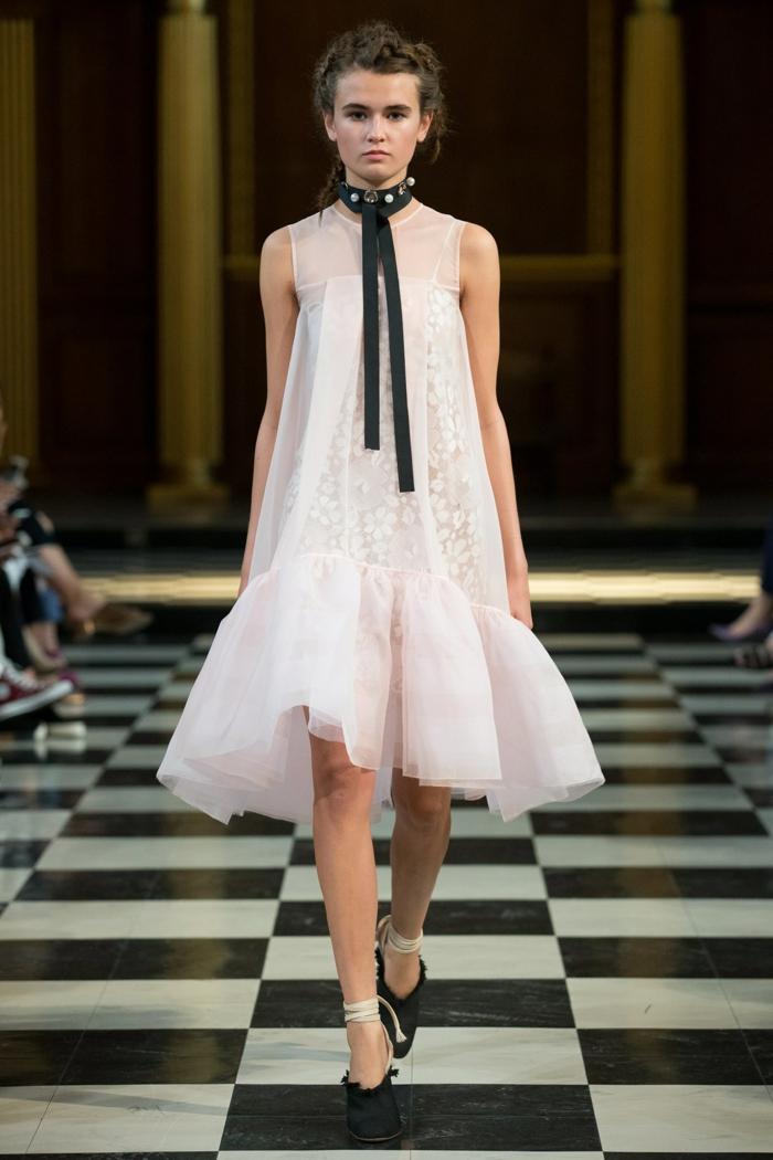 Ein Kleid aus drei Stücke, Umstandskleider Hochzeit, geblümte Mittelteil, ein Schal in schwarzer Farbe