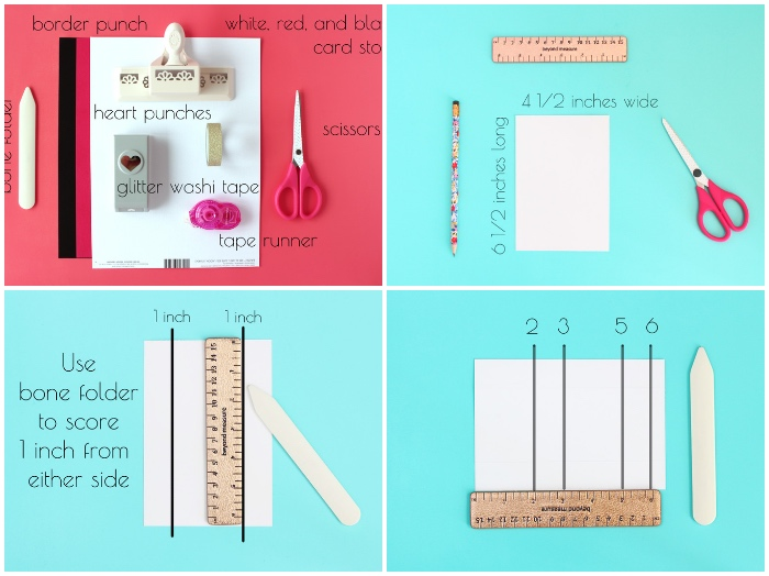schachtel falten anleitung in bildern und wörtern, basteln mit papier, geschenkverpackung diy