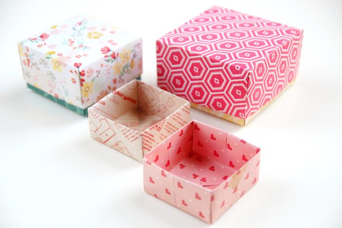 Fabulous ▷ 1001 + Ideen, wie Sie eine kreative Geschenkbox basteln JT94