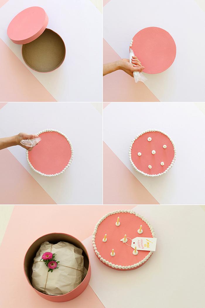 1001 ideen wie sie eine kreative geschenkbox basteln. Black Bedroom Furniture Sets. Home Design Ideas