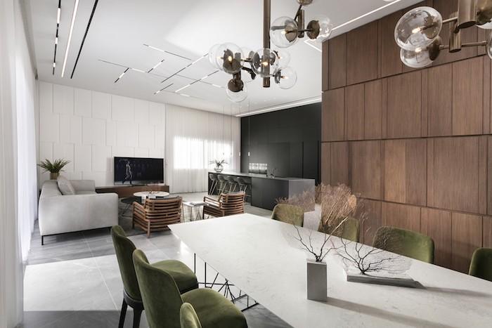 moderne wohnzimmer gestaltung ideen, fotos im wohnraum aus verschiedenen blicken