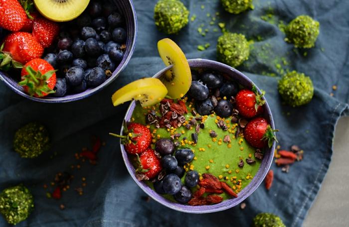 Vegan Diät mit Weizengras