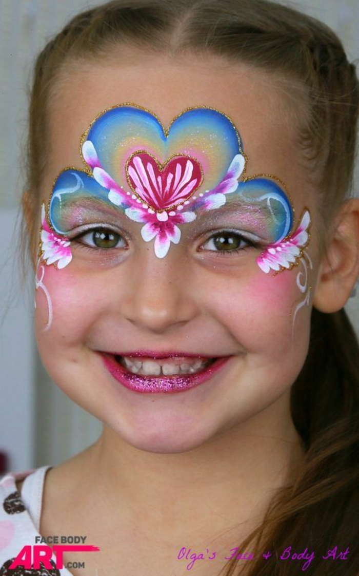 Simple Face Paint For Girls
